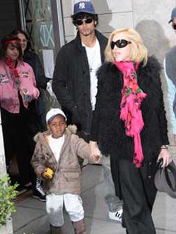 Madonna and Jesus with David