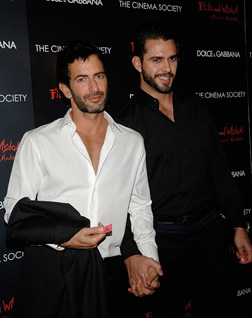 Marc Jacobs and Lorenzo Martone