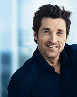 Patrick Dempsey modelling for L'oreal