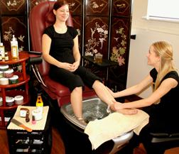 Divine Hands & Feet treatment