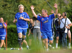 Gordon Ramsey Playing Football