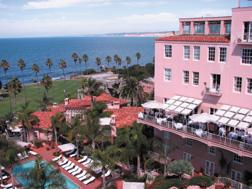 La Valencia Hotel in La Jolla