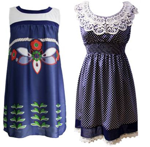 Spring/Summer at Darimeya both dresses 60
