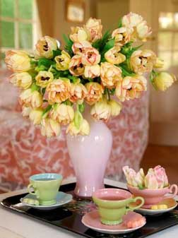 <b>Tea and Tulips...</b>