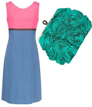 Dress: £65.00 Bag: £79