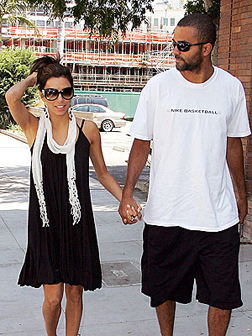 Eva Longoria Parker with husband Tony