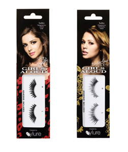 Cheryl and Kimberley's lashes