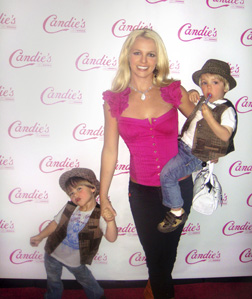 <b>Britney and the Kids...</b>