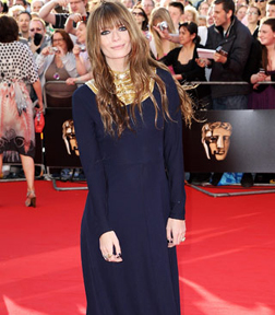 Mischa Barton at the BAFTA's