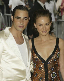 Natalie with Zac Posen