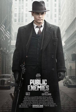 <b>Public Enemies trail...</b>
