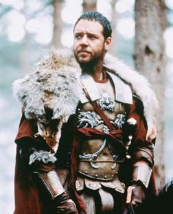 Russell in Gladiator