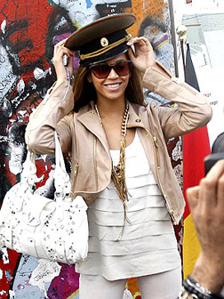 Beyonce Knowles in Germany