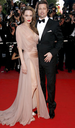 Brad and Angelina at Cannes