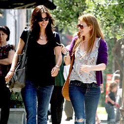 Courteney and Isla