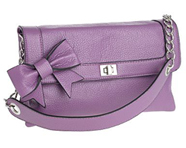Mauve Bow Mini Bag from Debenhams