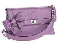 Mauve Bow Mini Bag from Debenhams