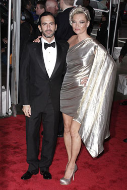 Marc Jacobs & Kate Moss at the MET