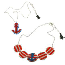 Nautical jewellery from Punky Pins