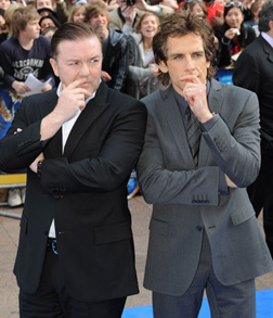 Ricky and Ben on the red carpet