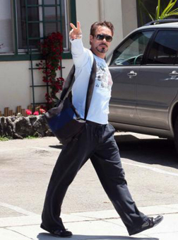 Robert Downey Jr. spotted in LA