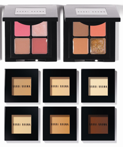 Bobbi Brown Lip Quad and Foundation Compact