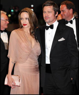 Brad Pitt & Angelina Jolie at cannes