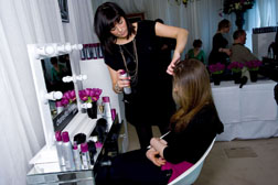 Enjoy the Charles Worthington's pop-up salon