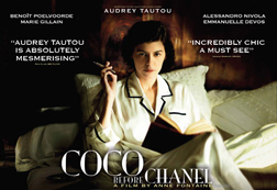 Audrey Tatou is Coco Chanel
