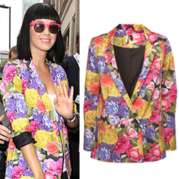 Katy Perry in a Topshop Blazer £70