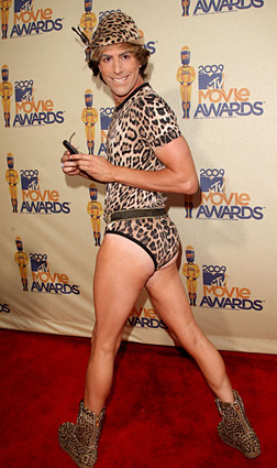 Sacha Baron Cohen on the Red Carpet at the MTV Awards