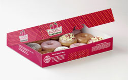 Strawberry Sensations from Krispy Kreme