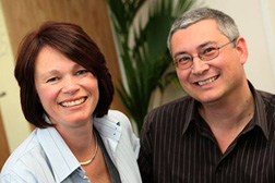 Catherine Castle and Bryan Powell, co-founders of The Divorce Show