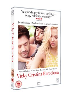 Win Vicky Cristina Barcelona on DVD