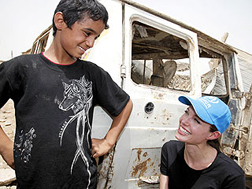 Angelina in Iraq