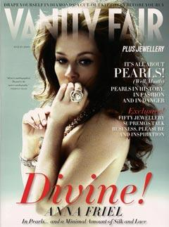 Anna Friel Nude in Vanity Fair