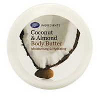 Boots Ingredients Coconut and Almond Body Butter