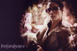 Christy Turlington New Face of YSL