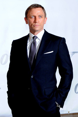 Spend an evening in the company of Mr Bond, Daniel Craig
