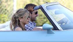 Jen & Gerard take a spin