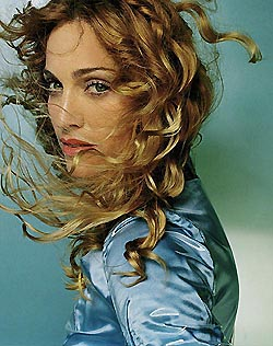 Madonna in her Ray Of Light period