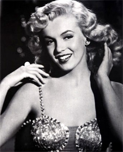 Whitney's icon Marilyn Monroe