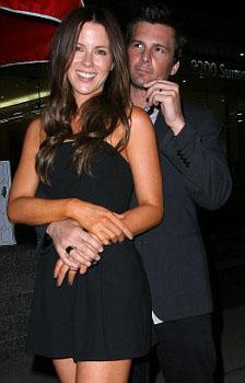 Kate celebrates her birthday with Len Wiseman