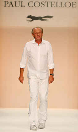 Paul Costelloe at LFW Spring/Summer 09