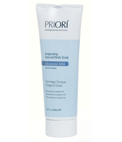 Priori Advanced AHA Cosmeceutical Face & Body Scrub