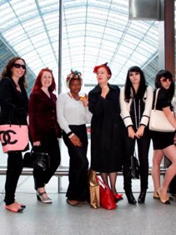 Check out the fashion flash mob at St Pancras