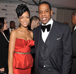 Rihanna and Jay-Z