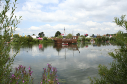 The pirate ship at The Secret Garden Party