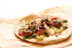 Spicy Chilli and Garlic Chicken Wrap