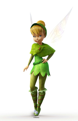 Tinkerbell's new look in Lost in Treasure